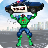 Incredible Monster Robot Hero Crime Shooting Game 2.0.8 APK Cracked Downlaod – PRO for android