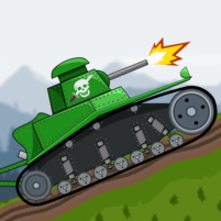 Tank Battle War 2d: game free  1.0.7.0 APK Cracked Downlaod – PRO for android