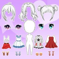 Chibi Dolls: Dress up Games & Avatar Creator  1.0.6.2 APK Cracked Downlaod – PRO for android
