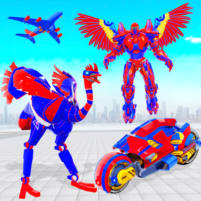 Flying Bike Ostrich Robot Game  44 APK Cracked Downlaod – PRO for android
