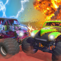 Mad monster truck challenge game 2021 1.0.4 APK Cracked Downlaod – PRO for android