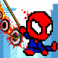 Rope Pixel Master – Rescue Hero Academy 0.19 APK Cracked Downlaod – PRO for android