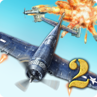 AirAttack 2 – WW2 Airplanes Shooter 1.5.0 APK Cracked Downlaod – PRO for android