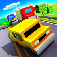 Blocky Highway: Traffic Racing 1.2.3 APK Cracked Downlaod – PRO for android