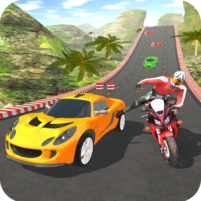 Car vs Bike Racing 5.0.8 APK Cracked Downlaod – PRO for android