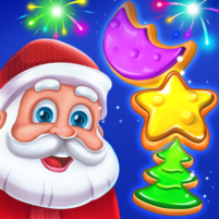 Christmas Cookie Santa Claus's Match 3 Adventure  3.3.7 APK Cracked Downlaod – PRO for android