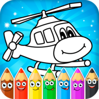 Coloring pages for children : transport 1.1.9 APK Cracked Downlaod – PRO for android