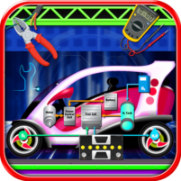 Electric Car Repairing – Auto Mechanic Workshop 1.2 APK Cracked Downlaod – PRO for android