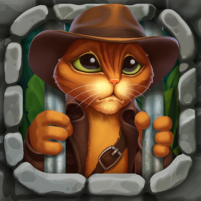 Indy Cat 2: Match 3 free game – jigsaw, puzzles 1.1 APK Cracked Downlaod – PRO for android
