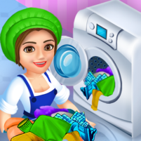 Laundry Shop Clothes Washing Game 1.23 APK Cracked Downlaod – PRO for android