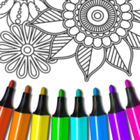 Mandala: Coloring for adults 8.3.0 APK Cracked Downlaod – PRO for android