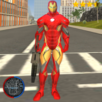 Super Iron Rope Hero – Vegas Fighting Crime 6.3 APK Cracked Downlaod – PRO for android