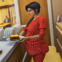 Virtual Mother Simulator 3D  3.0.7 APK Cracked Downlaod – PRO for android
