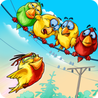 Birds On A Wire: Free Match 3 2.0.28 APK Cracked Downlaod – PRO for android