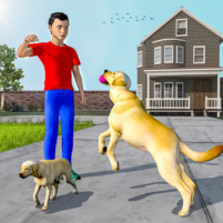 Dog Simulator Puppy: Virtual Family Game 1.7 APK Cracked Downlaod – PRO for android