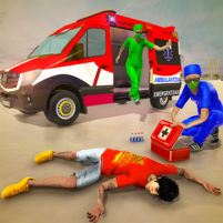 Emergency Superhero Rescue Mission-Ambulance Games 1.0.9 APK Cracked Downlaod – PRO for android