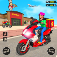 Pizza Delivery: Boy & Girl Bike Game 1.0 APK Cracked Downlaod – PRO for android