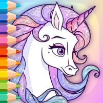 Sparkling Rainbow Unicorns Coloring Book For Kids 2.0 APK Cracked Downlaod – PRO for android
