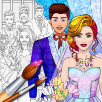 Wedding Coloring Dress Up – Games for Girls  1.4 APK Cracked Downlaod – PRO for android
